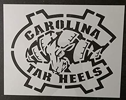 North Carolina 100 Stencil