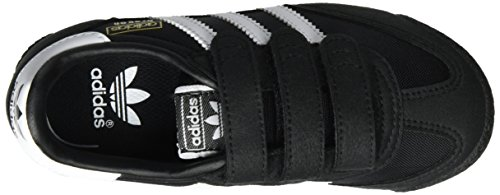 adidas Dragon Og, Zapatillas de Entrenamiento Unisex Niños, Azul Negro (Core Black/ftwr White/core Black)