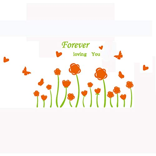 Cheap  Wall Stickers for Bedroom,Beautiful Flowers and Mothers and kindergartens Shop Decoration Window..