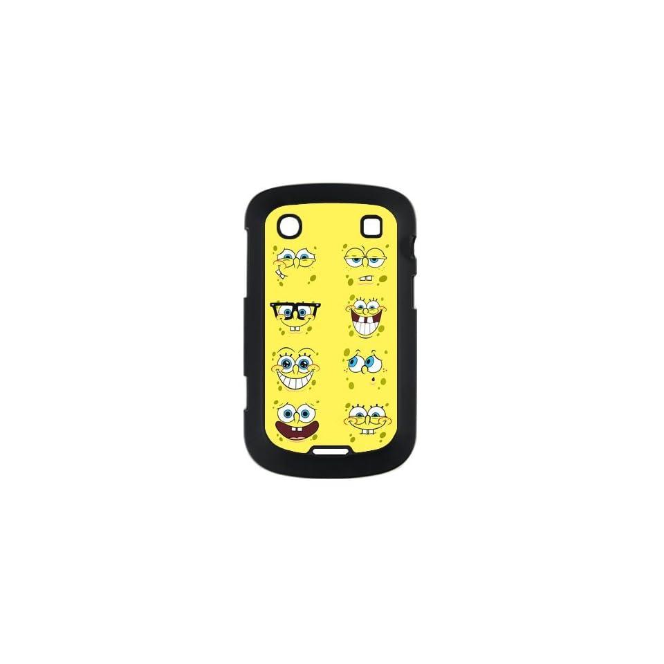 Patrick Star and Spongebob Squarepants BlackBerry Bold Touch 9900 Case Hard Slim Fit BlackBerry Bold Touch 9900 Case