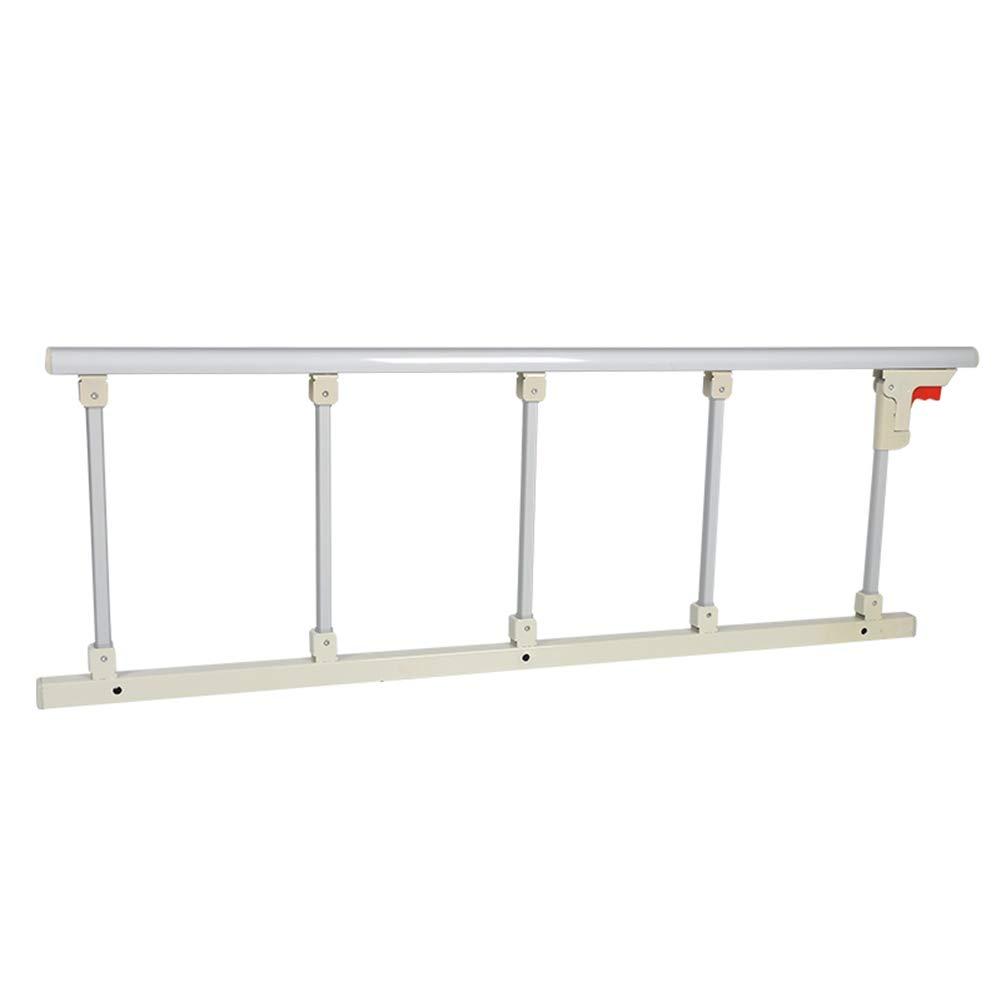 ベッドフェンス- 折りたたみ式ベッドレールお年寄り、家のためのアルミ合金のベッドサイド安全サイドガード、病院用メタルグリップバンパーバー(47インチ)   B07M72ZY4Q