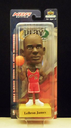 (2004 Upper Deck Playmakers Lebron James Cleveland Cavaliers Bobblehead - Only 5,000 Made )