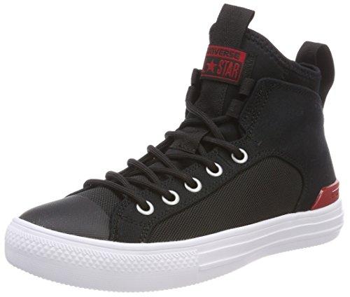CTAS Black Black Mid Converse Hautes White Ultra Noir Gym Mixte White Gym Red Adulte Red Noir Baskets 001 pHHdCwO