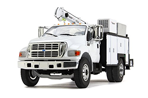 First Gear 1/34 Scale Diecast Collectible Ford F-650 with Maintainer Service Body (10-4107)