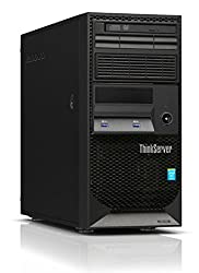 Newest Lenovo ThinkServer TS140 Flagship High Performance Tower Server Desktop | Intel Core i3-4150 | 3.50 GHz | 12GB RAM | DVD+/-RW | No Operating System | Black