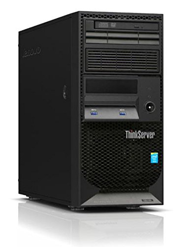 2017 Newest Flagship Lenovo ThinkServer TS140 Business Server Desktop - Intel Dual-Core i3-4150 3.5GHz, 8GB DDR3, No Hard Driver, DVDRW, Intel HD Graphics 4400, USB 3.0, No Operating System