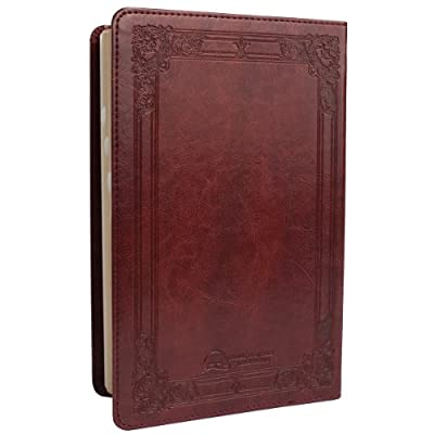 Holy Bible: KJV Standard Size Thumb Index Edition: Burgundy (King James Bible)
