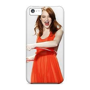 New Premium Flip Case Cover Emma Stone 2012 Skin Case For Iphone 5c