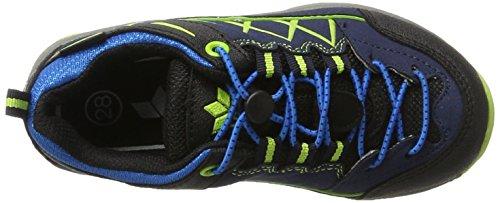 Lico Griffin, Zapatos de Low Rise Senderismo para Niños Azul (Marine/blau/lemon)