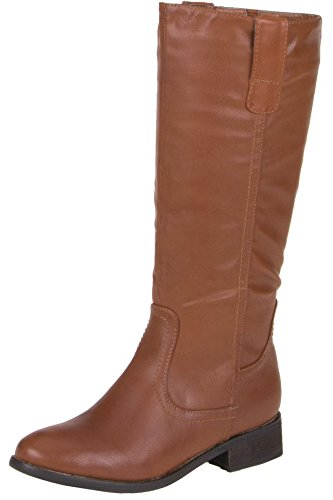 Boots Ladies Cammello Da Stivali Shoes Winter Donna Invernali rqnwBqEIx0