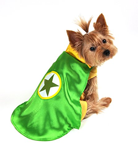 Anit Accessories AP1091-XL Superhero Dog Costume, Green (Costumes Dogs)