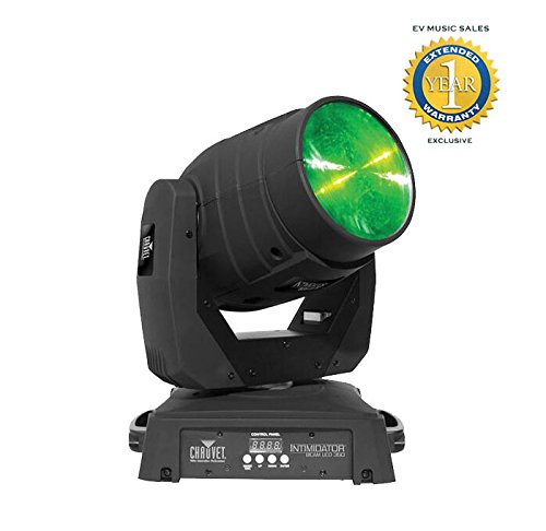 Moving Head Intelligent Lighting - Chauvet Intimidator Beam LED 350 75W LED Intelligent Lighting Fixture with 1 Year Free Extended Warranty
