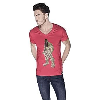 Creo Hulk Arab Super Hero T-Shirt For Men - L, Pink