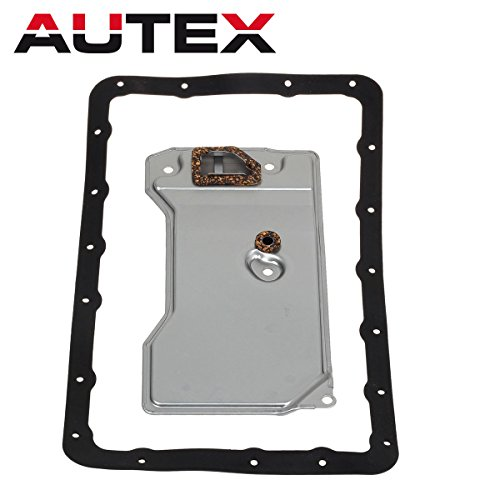 AUTEX A340H 83504032 Automatic Transmission Fluid Filter Gasket Kit Compatible With Jeep Cherokee & Comanchee & Wagoneer 1987 1988 1989 1990 4.0L