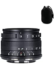 7artisans 35mm F1.4 APS-C Camera Lens Large Aperture Manual Focus Fuji x Mount Lens for Fuji x-t30、Fuji x-t4、Fuji x-t3、Fuji x-s10、X-A1、X-A10、X-A2、X-A3、X-A5、X-A7、X-M1、X-M2、X-H1、X-T1、X-T10、X-T2、X-T20