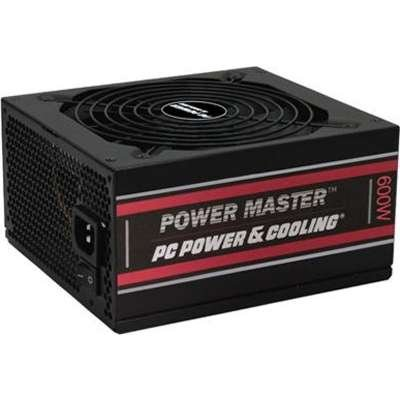 PC Power & Cooling Power Master Series 600 Watt, 80 Plus Bronze, Semi-Modular, Active PFC, Industrial Grade ATX PC Power Supply, 3 Year Warranty , FPS0600-A2S00 by PC Power & Cooling