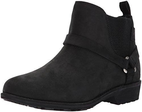 Teva Women's W DE LA Vina Dos Chelsea Boot, Black, 7.5 M US