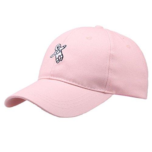 Limsea Unisex Fashion Hat Astronaut Emberoidery Baseball Hat Cap