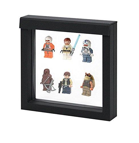 "3D NIMBUS Floating Frame, Shadow Box, Display Case, Box 4""x 4"" x 1''"
