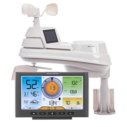 AcuRite 01540M 5-in-1 Weather Station with Wi-Fi Connection to Weather Underground AcuRite