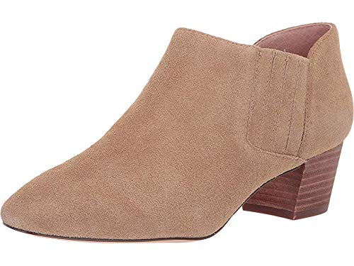 (J.Crew Women's Suede Savannah Bootie Melted Caramel 5 B US)