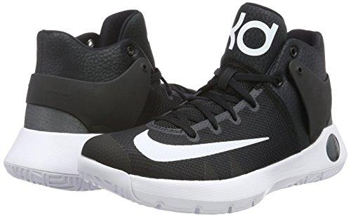 Nike ball Kd Iv Chaussures Fonc 5 noir Blanc De Noir Basket Trey gris Pour Homme rrwdB0