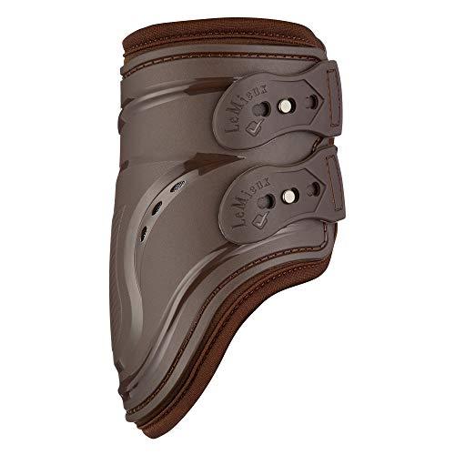 LeMieux Impact Responsive Gel Fetlock Boots Brown Large
