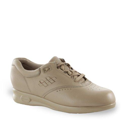 Softspots Women's Supremes Marathon Walking Shoes, Taupe,...