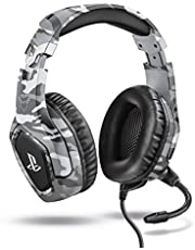 Trust Gaming GXT 488 Forze-G Gaming Headset voor Playstation 4 - Officially Licensed for PS4 - Grijs