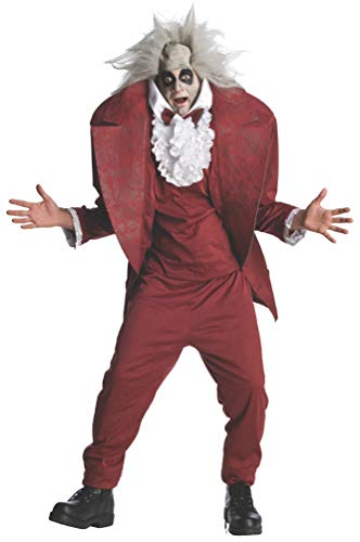 Shrunken Head Mens BeetleJuice Costume sz XL -