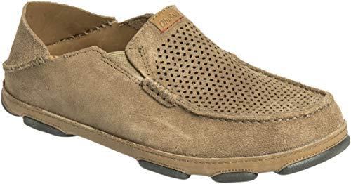 OLUKAI Moloa Kohana Shoe - Men's Dark Clay, 11.0