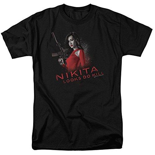 - Trevco Men's Nikita Short Sleeve T-Shirt, Black 4X-Large