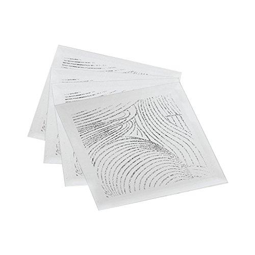 American Atelier Swirl Coasters/Pillar Holders (Set of 4), Silver
