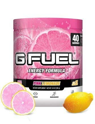 Gamma Enterprises G Fuel Nutrition Supplement, Pink Lemonade 9.8oz (280g) (G Fuel Flavors)