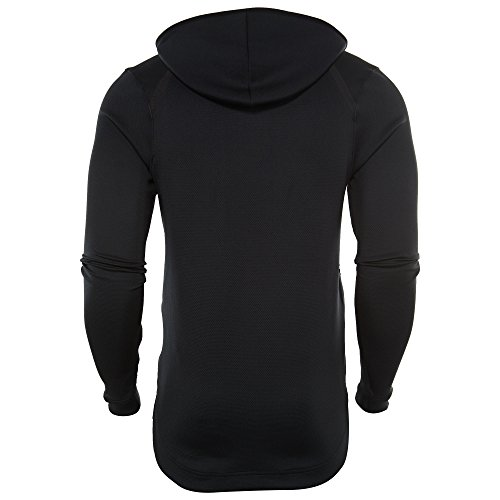 Showtime 856438 Therma Taille Hoodie Flex Noir Mens large blanc Basket 010 Nike X E85wx1vqf