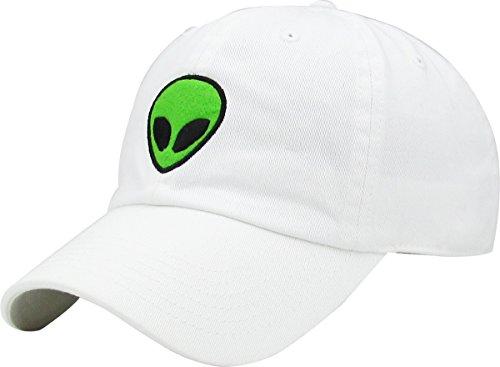 419aba18e1b KBSV-042 BUR Alien Vintage Dad Hat Baseball Cap Polo Style Adjustable
