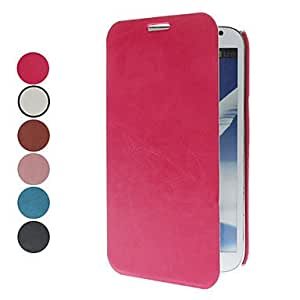 LZX Korean-Style PU Leather Full Body Case for Samsung Galaxy Note 2 N7100 (Assorted Colors)