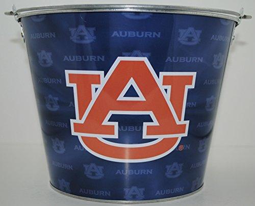 Auburn Tigers Team Color Metal Beer Bucket
