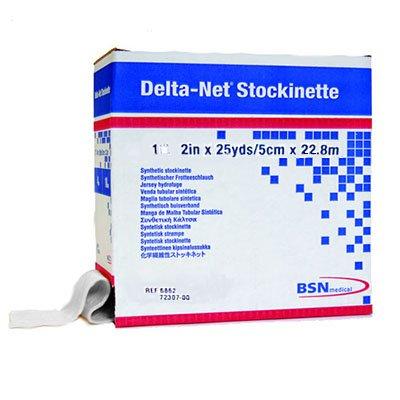 Bsn 6862   Delta Net Orthopedic Synthetic Stockinette 2 X 25Yds  2Rl Cs