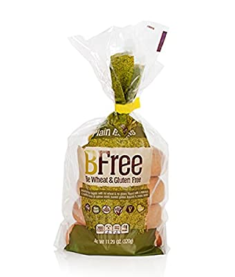 BFree Gluten Free Plain Bagels, Vegan, Egg Free, Soy Free, Nut Free, Dairy Free, Kosher 11.29 Ounce (Pack of 3)