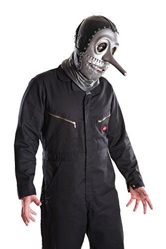 Rubies Fancy dress costume Co. Inc Boys Adult Slipknot Chris Mask Standard by Musical Artist (Slipknot Chris)