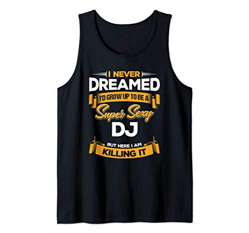 DJ Quote DJ Tank Top