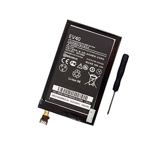 (Tesurty Replacement Battery for Motorola Droid Razr HD, Droid Razr MAXX HD XT926, Motorola EV40, SNN5913A with Tool)