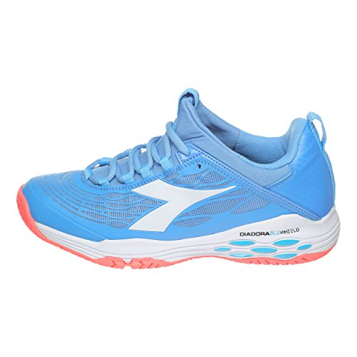 Ag Speed Shoe Shoes 5 5 Blue Court Fly Women Tennis Light Blushield Women All Diadora White Iw5axRHqv
