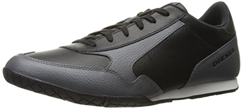 Diesel Mens Klauw Actie S-toclaw Fashion Sneaker Zwart / Castlerock
