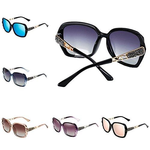 ac0e73d03c Providethebest Muchacha de las mujeres gafas de sol polarizadas Gafas Plaza  capítulo de la PC en forma de protección UV400 ...