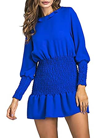 Casual Pleated Dress For Women