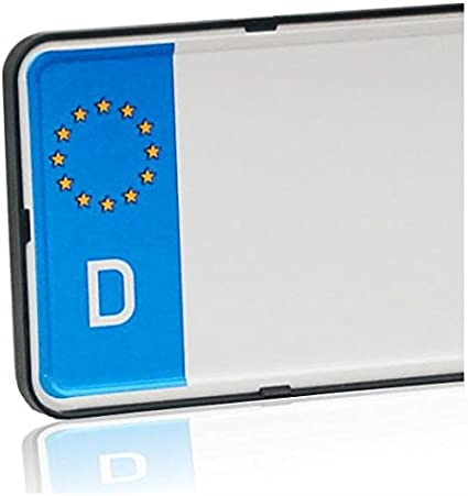 Dezentofix CMS support de plaque dimmatriculation