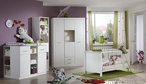 Lifestyle4living Babyzimmer Kinderzimmer Komplett Set