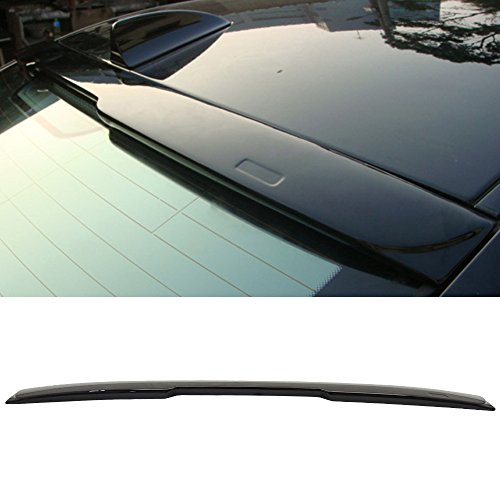 - Roof Spoiler Fits Pre-painted 2004-2010 BMW E60 5-Series | AC Style OEM Painted # 668 Jet Black - Other Color Available Rear Trunk Tail Spoiler Wing by IKON MOTORSPORTS | 2005 2006 2007 2008 2009